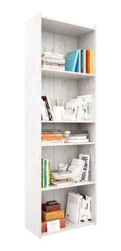 Biblioteca modular 4 estantes sin puertas + envió sin cargo