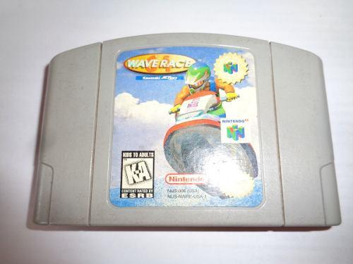 Cartucho juego nintendo 64 original japon wave race