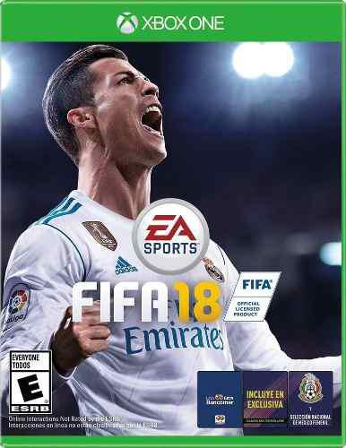 Fifa 18 Xbox One Juego Cd Nuevo Original Físico Sellado