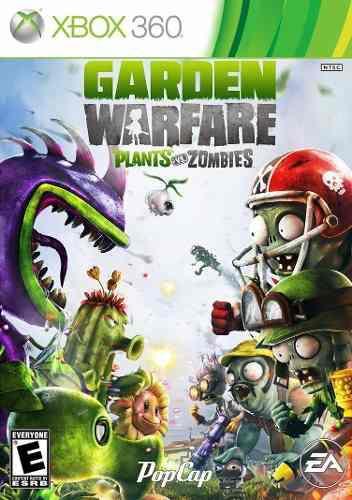 Plants vs zombies garden warfare xbox 360 juego cd blu-ray