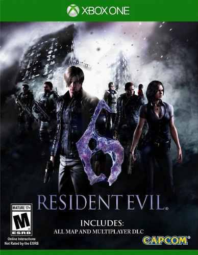 Resident evil 6 xbox one juego cd original fisico sellado