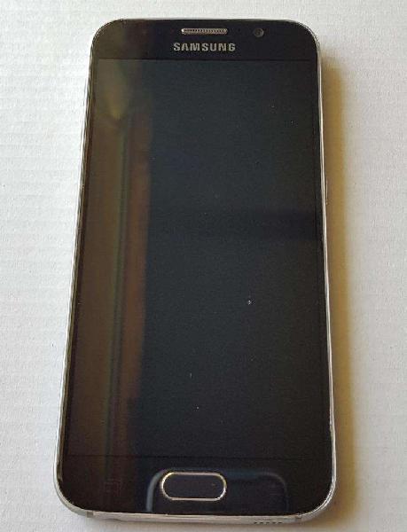 Samsung galaxy s6, 32gb, libre, flat, azul oscuro. excelente
