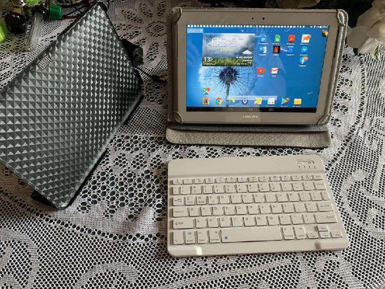 Tablet samsung galaxy note 10.1 y teclado bluetooth