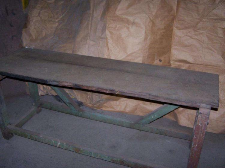 Banco de carpintero, madera dura