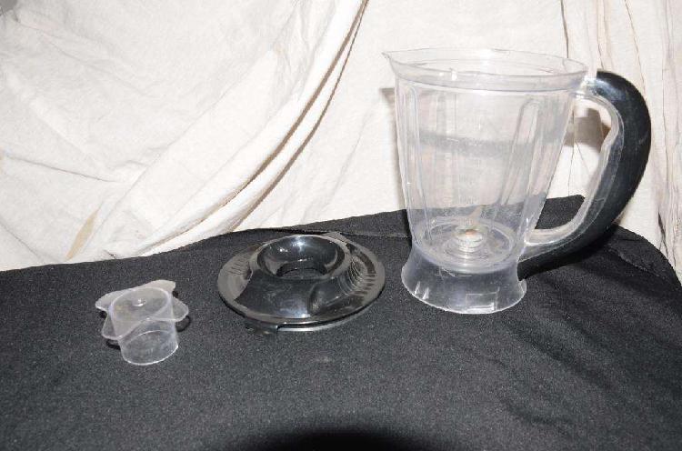 Jarra vaso repuesto para licuadora con tapa y cuchilla