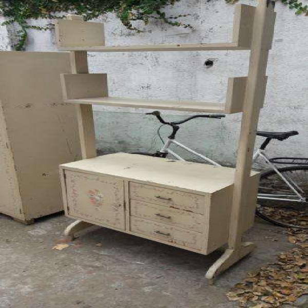 Mueble cocina antiguo macizo en petiribi... intervenido