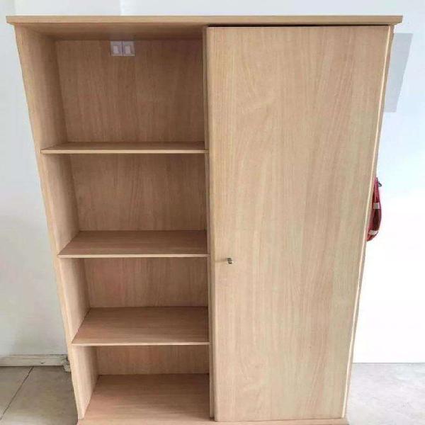 Mueble, biblioteca de melamina haya !!