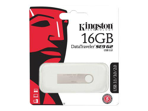 Pen drive usb 16gb kingston 3.0 datatravel