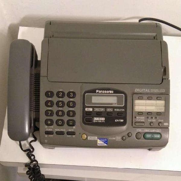 Telefono fax panasonic kx-f780. con contestador automático.