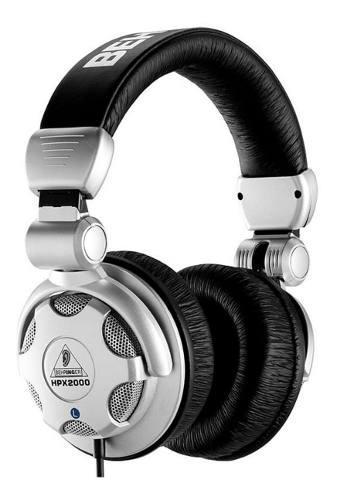 Auricular behringer hpx 2000 dj cerrado audio profesional