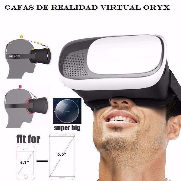 Lentes gafas realidad virtual cardboard vr headset vr box 2g