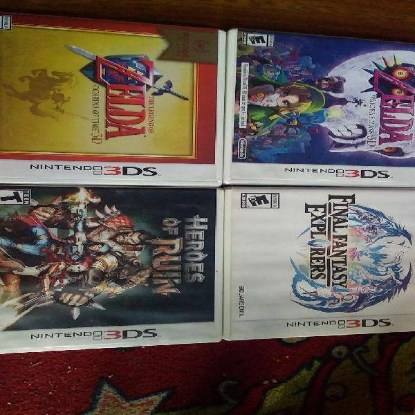 Nintendo 3ds juegos