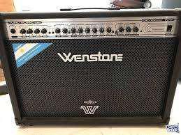 Amplificador guitarra wenstone ge 1600 twin