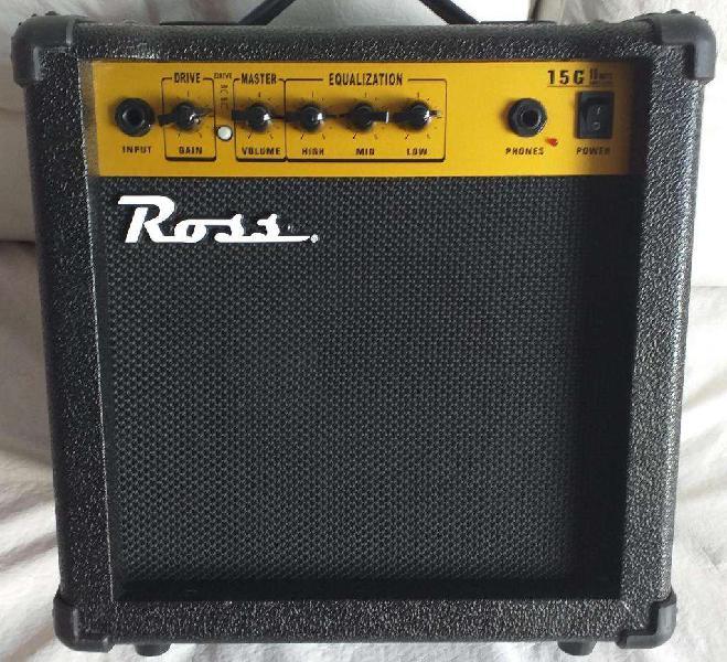 Amplificador de guitarra / ross 15 watts