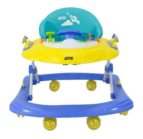 Andador caminador bebe con ruedas siliconadas tipo rolles