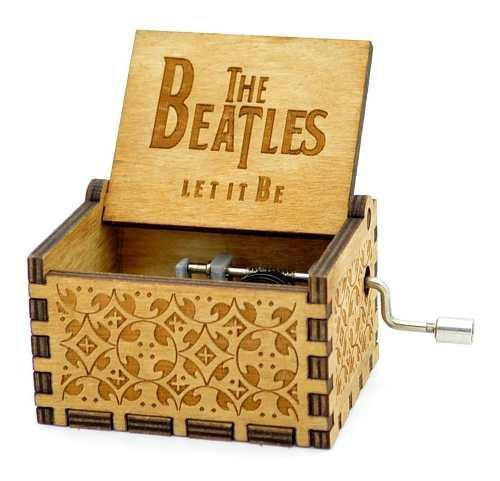 Cajita musical beatles let it be