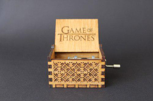 Cajita musical serie game of thrones got madera