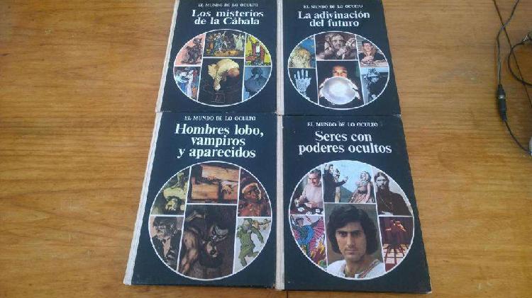 Colección el mundo de lo oculto cuatro libros