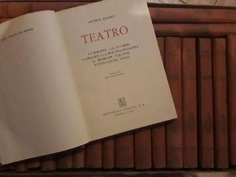 Colección gran teatro del mundo arthur adamov