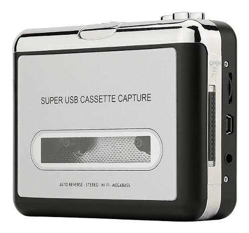 Conversor de cassette a mp3 ezcap original con soft editor