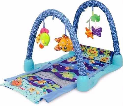 Gimnasio pelotero alfombra bebe gym 3 en 1 regalo oferta!