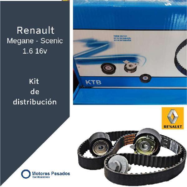 Kit de distribución para renault 1.6 - 16 v.