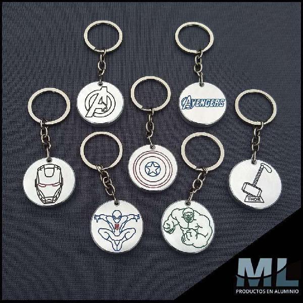 Llaveros Exclusivos en Aluminio, Personalizados, Autos,