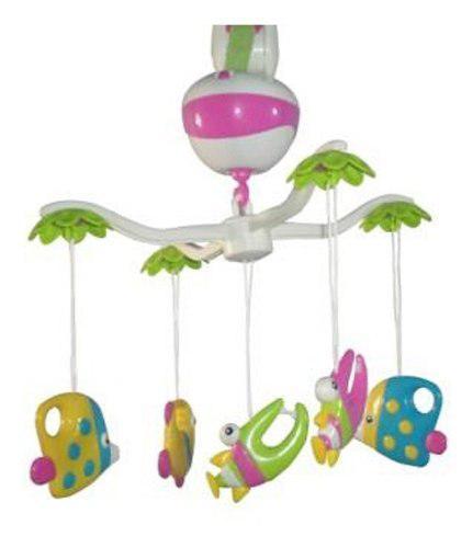 Movil cunero musical movil bebe para cuna y practicuna