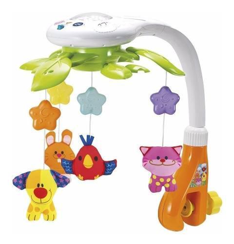 Movil cunero musical proyector para bebe 0845 marca winfun
