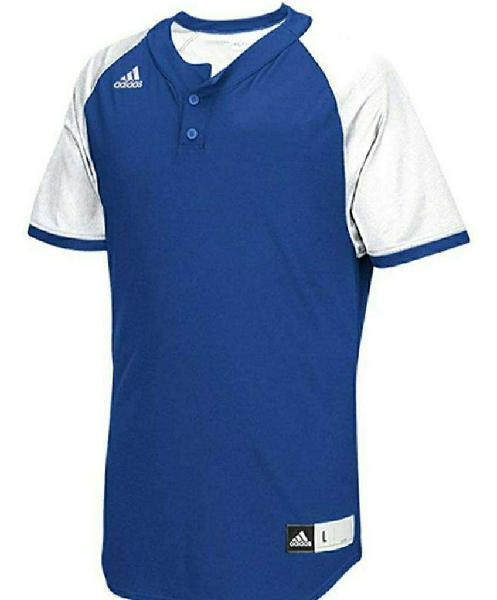 Nueva Adidas Remera Baseball Henley M