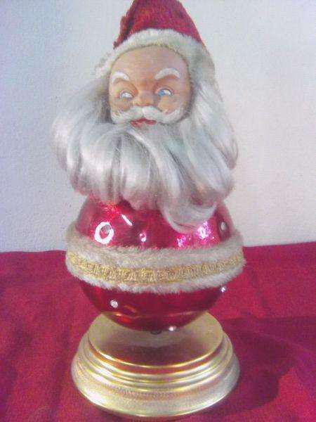 Papa noel antiguo musical puky
