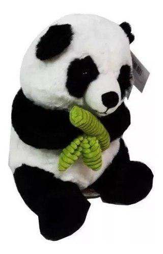 Peluche oso panda 25cm wabro 27225
