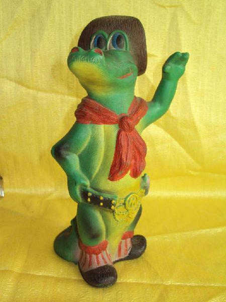 Antiguo muñeco margarito terere en goma