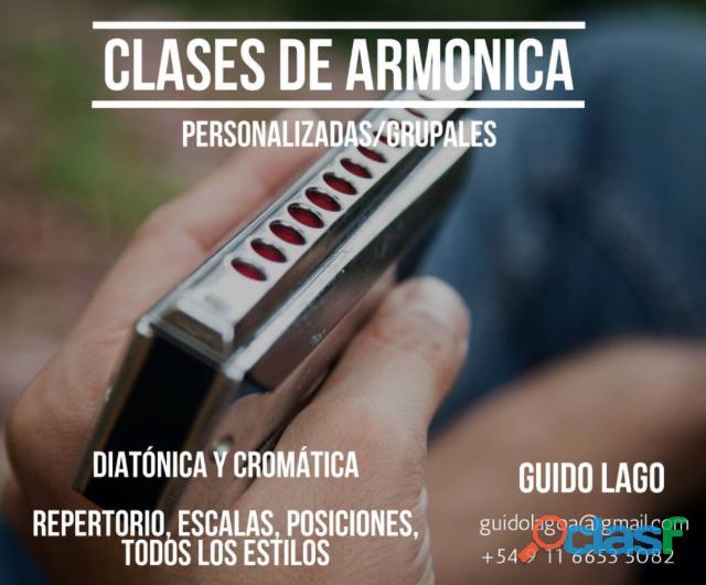 Clases de armonica en Belgrano