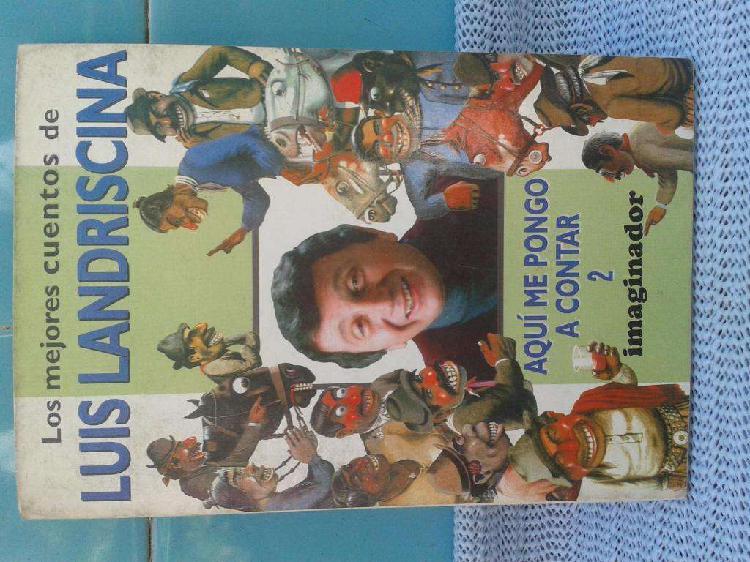 Libro usado los mejores cuentos de luis landricina aqui me