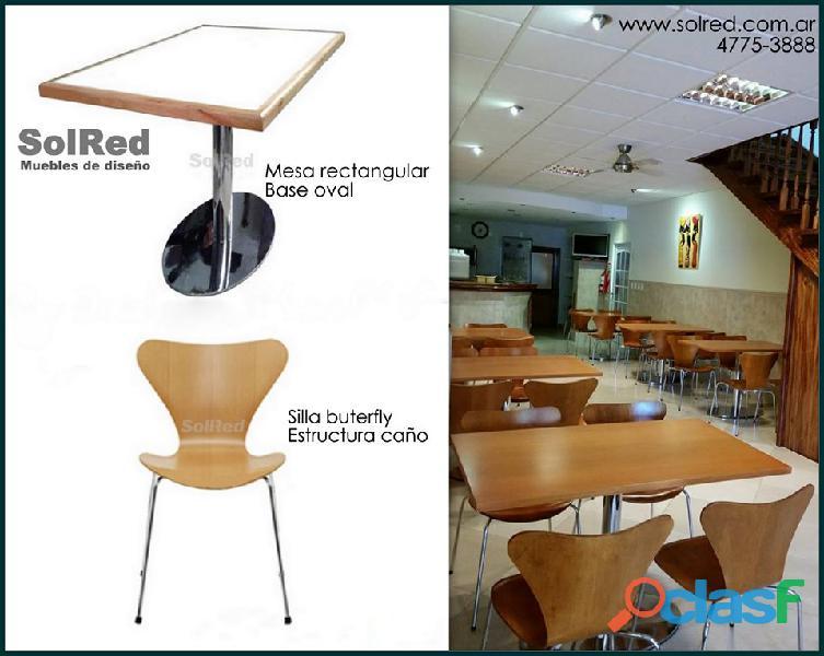 Mesa para bar/restaurant/heladeria