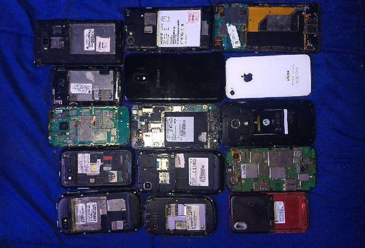 15 celulares para repuesto o reparar