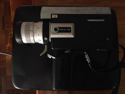 Antigua cámara filmadora canon super 8 zoom 518