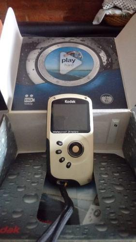 Camara Filmadora Kodak 3m Waterproof Sumergible Play Sport