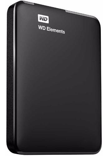 Disco rígido externo portátil wd western digital 2tb