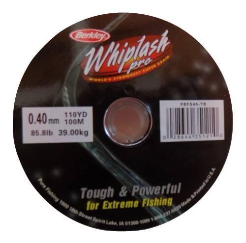 Multifilamento 0,40mm Wihplash Americano Hasta 39 Kilos