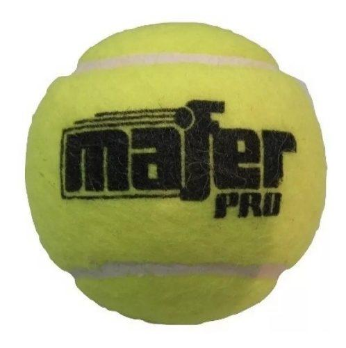 Pelotas mafer padel y tennis por 60 unidades