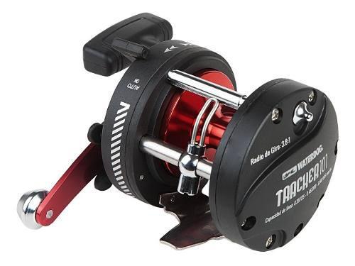 Reel Rotativo Waterdog Tracker 101 R Pesca Variada Derecho