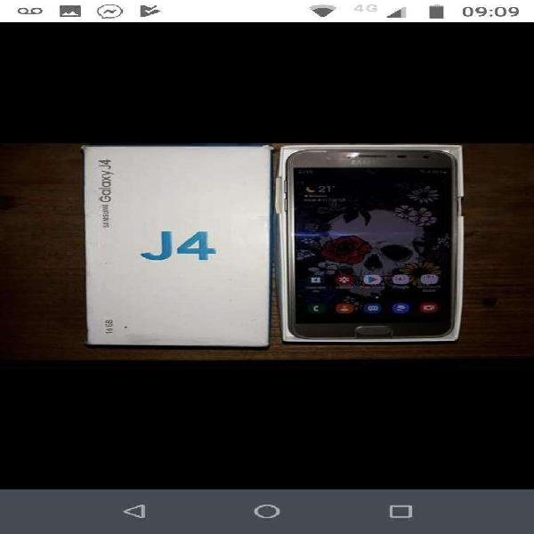 Samsung j4 libre de fabrica impecable