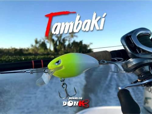 Señuelo Don Kb Tambaki Nuevo Baitcast Ideal Dorado