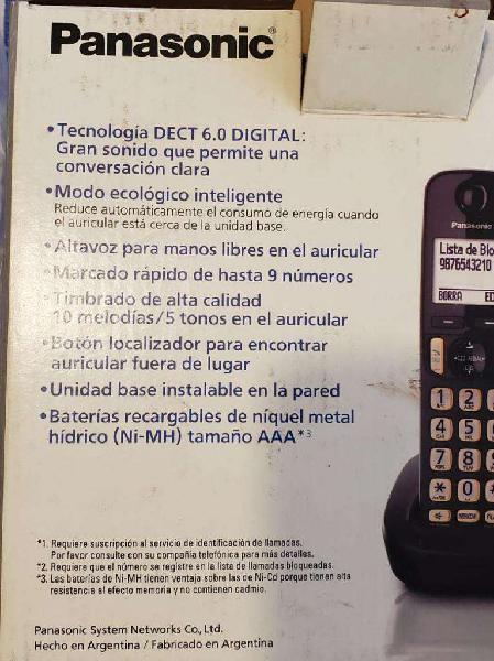 Telefono panasonic inalámbrico