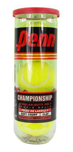 Tubo pelotas penn championship sello rojo tenis padel