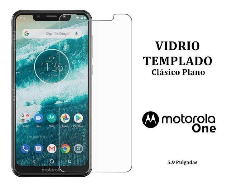 Vidrio Templado Comun Plano Motorola Moto ONE