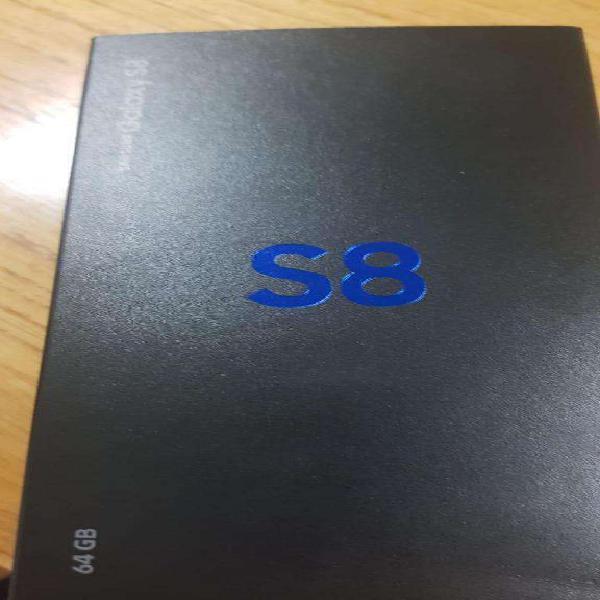 Ssamsung s8 64gb oroocre como nuevo 1 año d buen uso miralo
