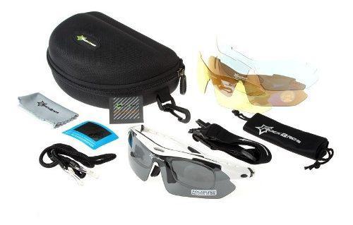 Anteojos deportivos 5 lentes intercambiables